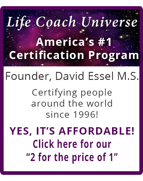 Life Coach Universe | Become a Certified Live Coach | David Essel