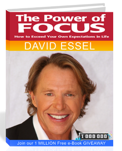 The Power of Focus by David Essel Book Cover