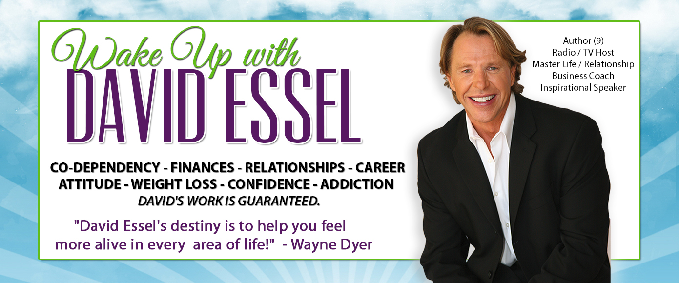 David Essel, Motivational Speaker, Career Counselor, How to be Confident, Healthy Relationships, Life Advice, Money Advice, Career Assesment